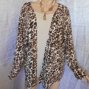 Nwt WHITE STAG 2 PC Look XXL Top Cardigan